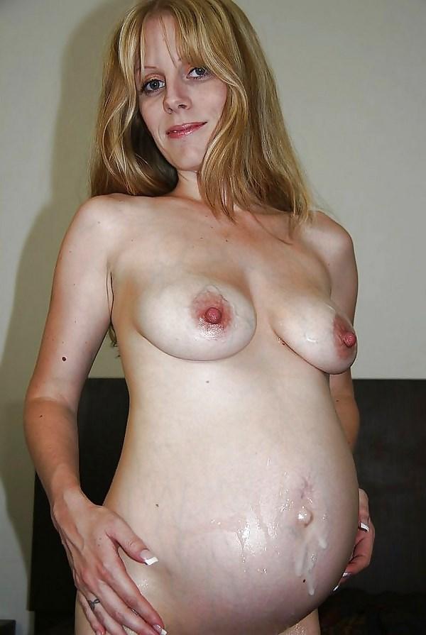 Jolie maman enceinte sexy